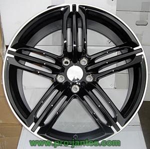 pack jantes audi rs6 black polish a3 a4 a5 a6 a8 q7 19 pouces pneus bridgestone re50a 235. Black Bedroom Furniture Sets. Home Design Ideas